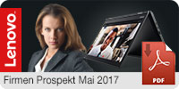 Lenovo Firmen Prospekt Frühjahr 2017 Download - PDF