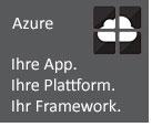 MS Azure - App, Plattform, Framework
